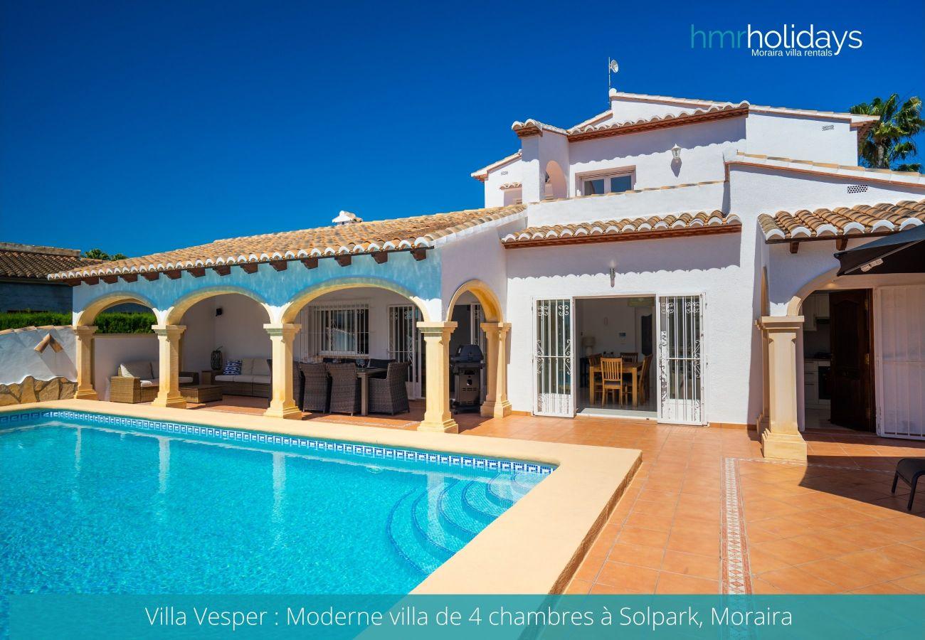 Villa in Moraira - Villa Vesper
