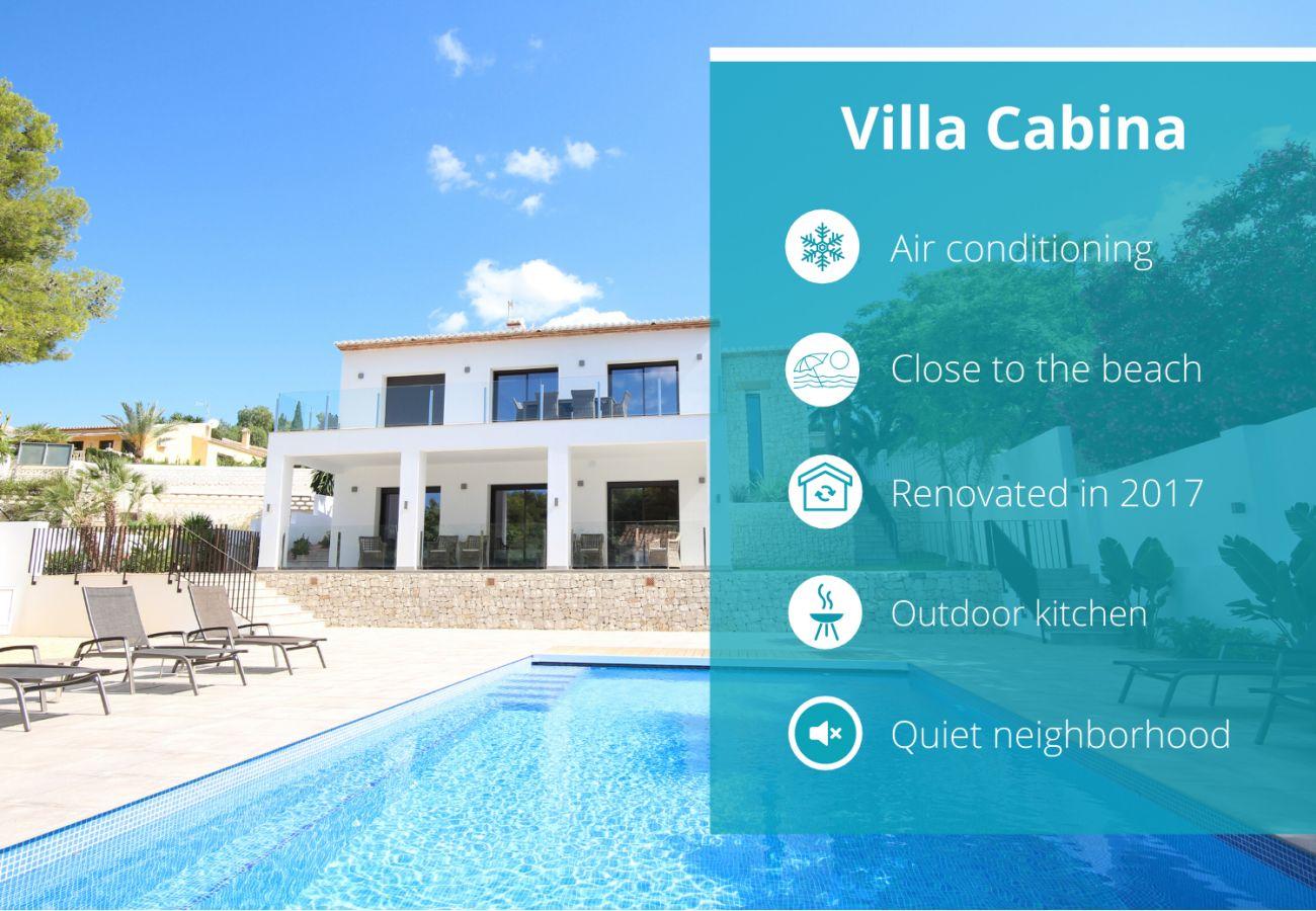 Villa in Moraira - Villa Cabina