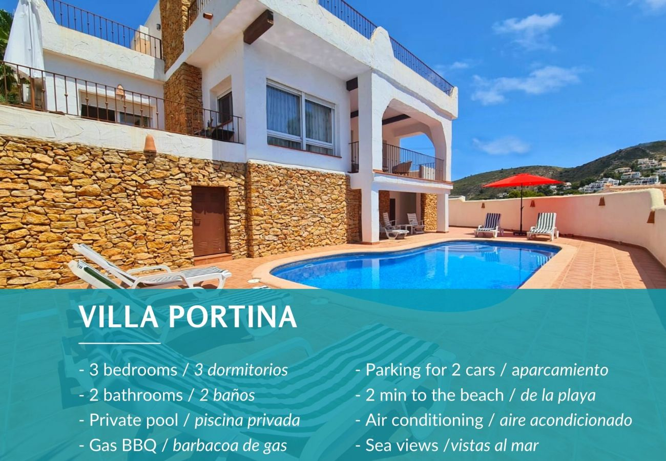 Villa in Moraira - Villa Portina