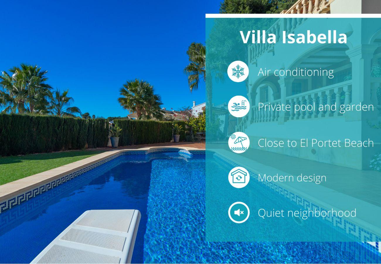 Villa in Moraira - Villa Isabella