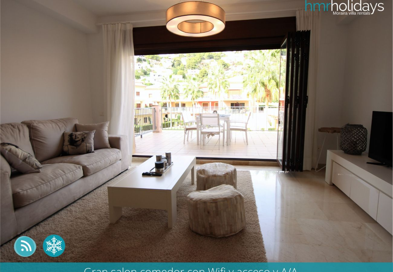 Apartment in Moraira - Duplex Montemar